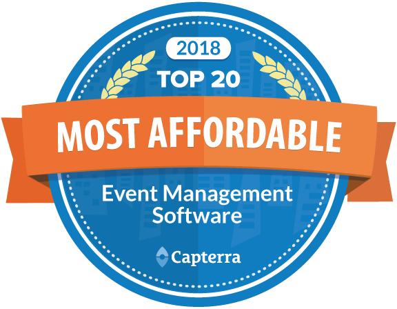 CAPTERRA TOP 20 MOST AFFORDABLE EVENT MANAGEMENT SOFTWARE